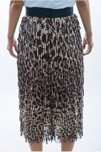 Dolce & Gabbana Women Animal Print Midi Skirt - F4AZRT FPSCH