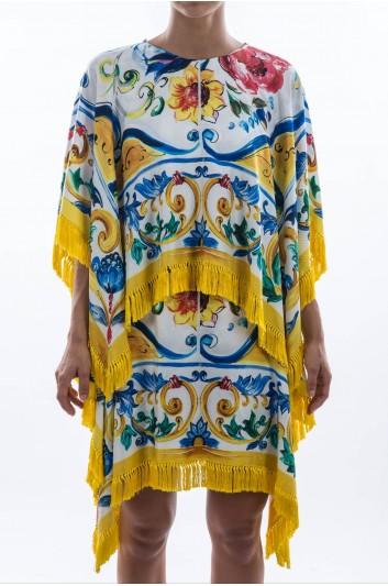 Dolce & Gabbana Women Maiolica Short Dress - F6ZX6T HP14M