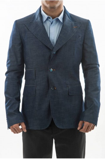 Dolce & Gabbana Men Denim Blazer - G2JO5D G8U81