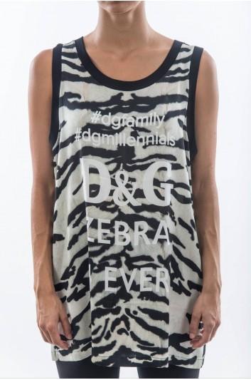 Dolce & Gabbana Women Zebra T-shirt - F8J25T G7MAA