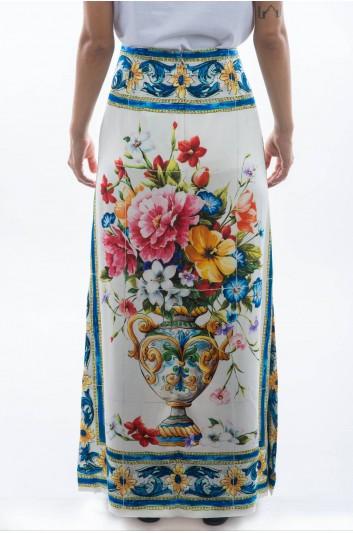 Dolce & Gabbana Falda Larga Mujer - F4A2RT GDF94