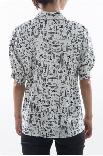 Dolce & Gabbana Women Short Sleeve Shirt - F5H52T HS1ID