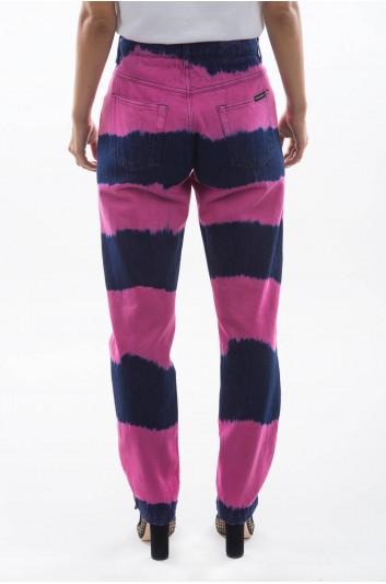 Dolce & Gabbana Women Denim Tie-Dye Trousers - FTAIAD G896U