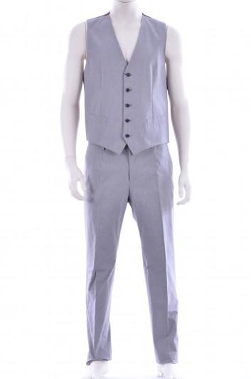 Dolce & Gabbana Men Trouser + Vest - G7389T FMFAI