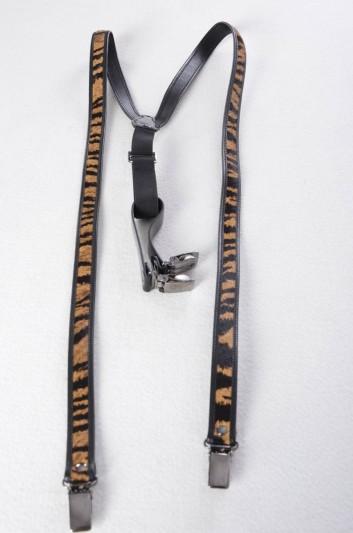 Dolce & Gabbana Women Fur Suspenders - BE0680 A9AL9
