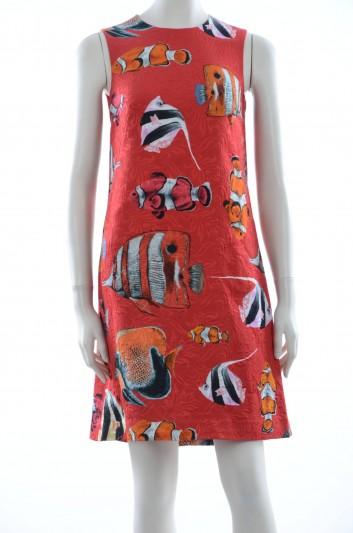 Dolce & Gabbana Women Fishes Short Dress - F65H0T HSMRL