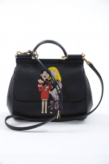 Dolce & Gabbana Women Medium Leather Bag - BB6002 AB517