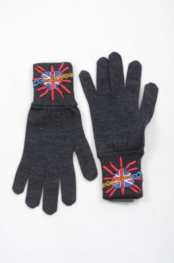Dolce & Gabbana Men Knitted Gloves - IG025M JAVDH