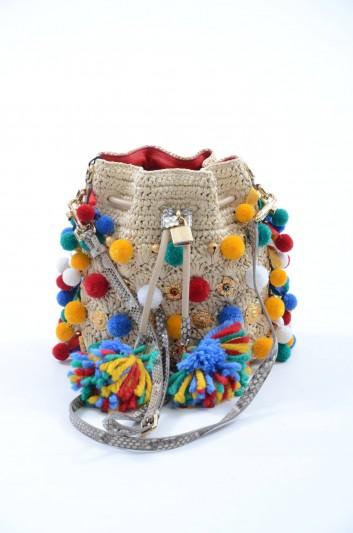 Dolce & Gabbana Bolso Mediano De Tela Mujer - BB6141 A2H95