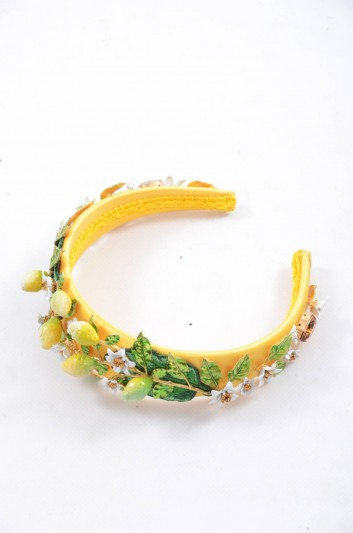 Dolce & Gabbana Women Lemons  Headband - WHI4L3 W0001