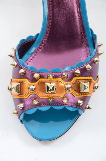 Dolce & Gabbana Sandalias De Tacón Mujer - CR0539 AH608