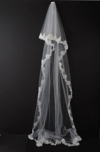 Dolce & Gabbana Women Large Wedding Veil - FS169A FLMFB