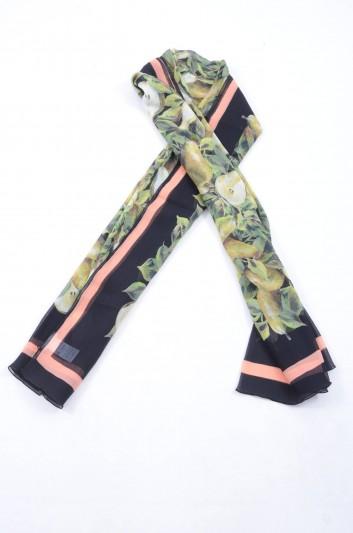 Dolce & Gabbana Women Leopard Print Foulard - FS182A GDG54