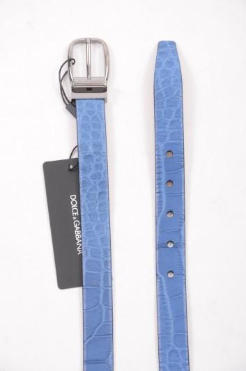Dolce & Gabbana Men Crocodile Belt - BC3953 A2247