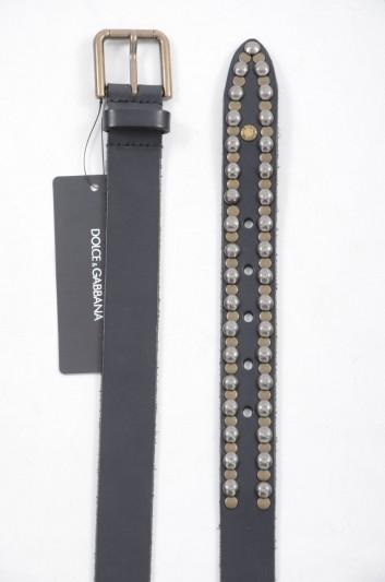 Dolce & Gabbana Cinturón Tachuelas Hombre - BC3584 A1822