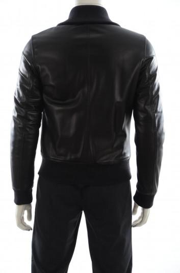 Dolce & Gabbana Men Outerwear Leather Jacket - G9FA3L FULZC