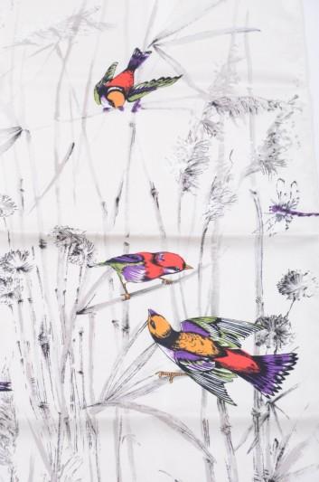 Dolce & Gabbana Pañuelo Estampado Pájaros Mujer - IF634W G9003