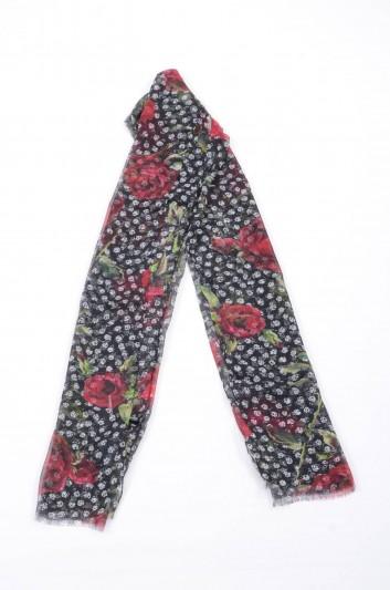 Dolce & Gabbana Women Roses Printed Foulard - II112W G9003