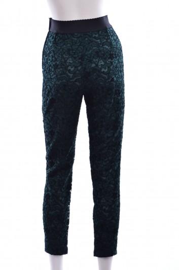 Dolce & Gabbana Women Lace Trouser - FTAEHT FLM54