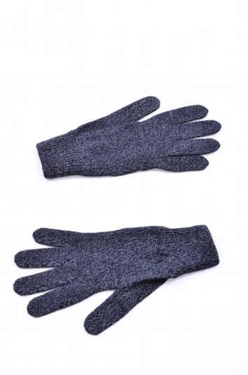 Dolce & Gabbana Men Knitted Gloves - GPG02K F65B4