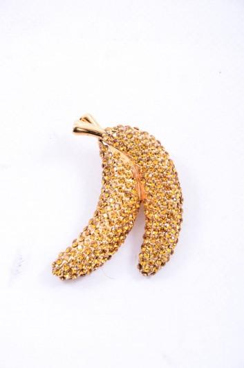 Dolce & Gabbana Women Banana Jewel Brooch - WPJ2F9 W0001