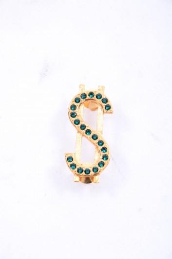 Dolce & Gabbana Women Jewel Dollar Brooch - WPJ2S2 W0001