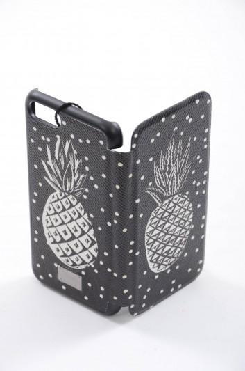 Dolce & Gabbana Men Iphone 7/8 Pineapple Print Plate Case - BP2239 AB669