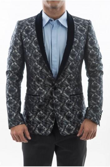 Dolce & Gabbana Men 1 Button Blazer - G2KR4T FJM09