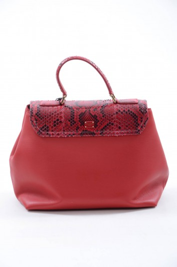 Dolce & Gabbana Women Large Leather Bag - BB6047 A2783