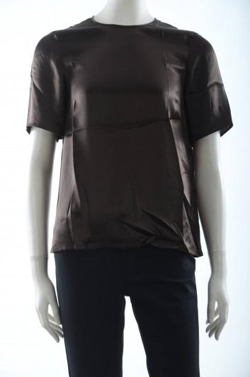 Dolce & Gabbana Women Silk T-shirt - F7R37T FU1EI