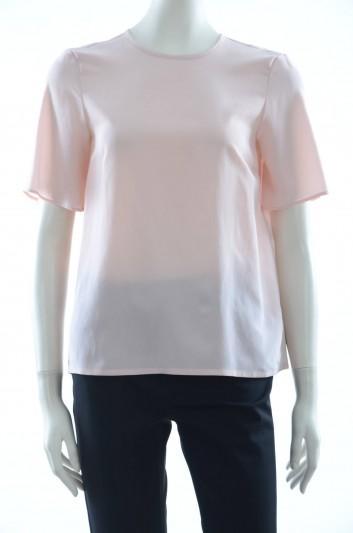 Dolce & Gabbana Women Silk T-shirt - F7R37T FU1FG