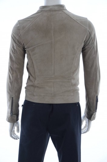 Dolce & Gabbana Men Leather Jacket - G9GH0L FUL1I