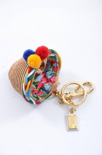 Dolce & Gabbana Llavero Cesto Mujer - BI0717 B9486