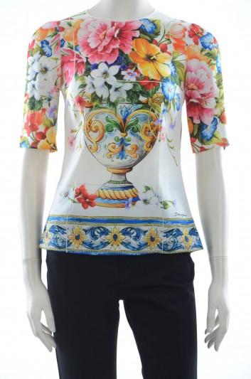 Dolce & Gabbana Women Round Neck - F7X41T FPAWY