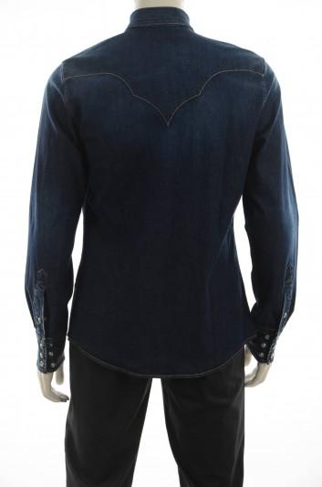 Dolce & Gabbana Men Denim Shirt Long Sleeve - G5DQ0Z G8T38