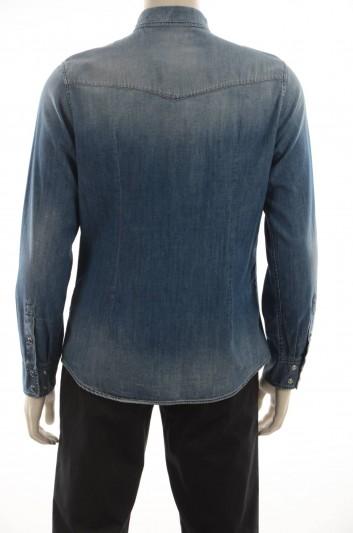 Dolce & Gabbana Men Denim Shirt Long Sleeve - G5DO4Z G8T92