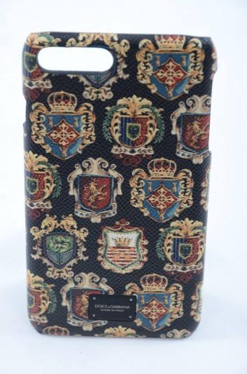 Dolce & Gabbana Funda Iphone 7/8 Placa Estampado Piña Hombre - BP2264 AI363