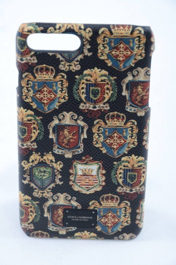 Dolce & Gabbana Men Iphone 7/8 Pineapple Print Plate Case - BP2264 AI363