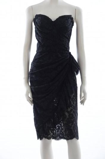 Dolce & Gabbana Women Lace Midi Dress - F62N7T FLM12