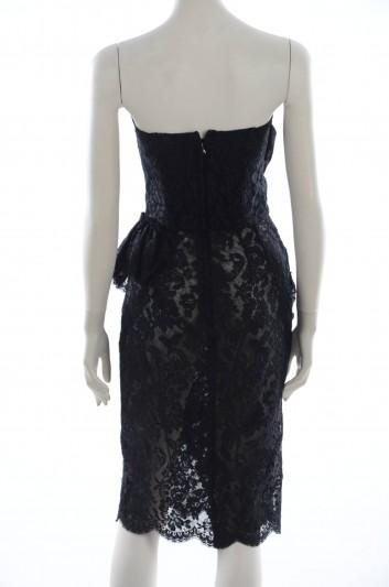 Dolce & Gabbana Mini Corto Encaje Mujer - F62N7T FLM12