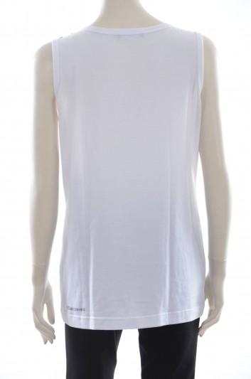 Dolce & Gabbana Camiseta Sin Mangas Mujer - F8I48Z HP7KY