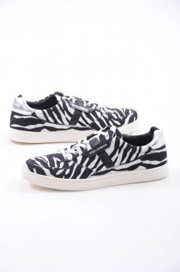 Dolce & Gabbana Sneakers Zebra Hombre - CS1477 AG400