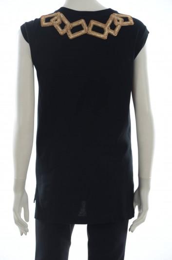 Dolce & Gabbana Camiseta Sin Mangas Mujer - F8I69Z FU7EQ