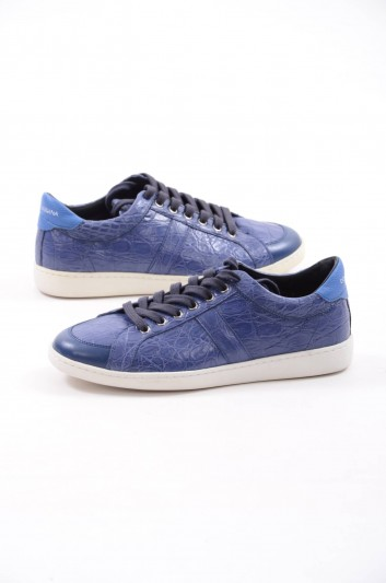 Dolce & Gabbana Low-top Leather Sneakers - CS1300 A2322