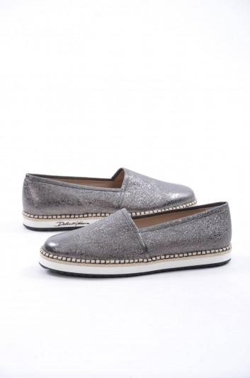 Dolce & Gabbana Men Leather Espadrilles - A50143 AI957