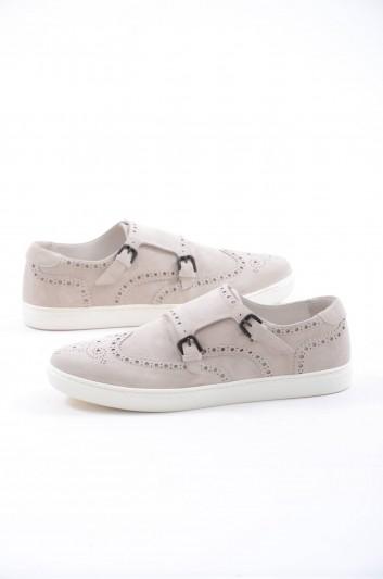 Dolce & Gabbana Men Leather Slip-Ons - CS1502 A1250
