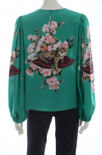 Dolce & Gabbana Women Silk Blouse - F7ZZET FH168