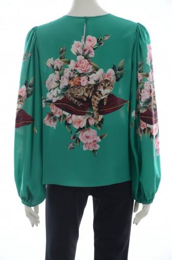 Dolce & Gabbana Women Silk Top - F7ZZET FH168