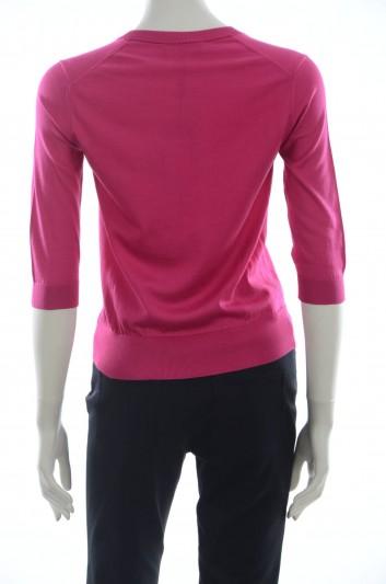 Dolce & Gabbana Women Silk Pullover - FX143T JASCK