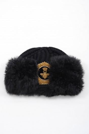 Dolce & Gabbana Women Cashmere Knitted Hat - FRH05Z F84DB